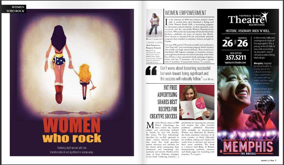 785 women who rock spread