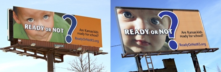 KAC Ready or Not billboards