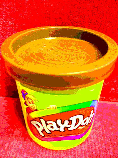 play doh has a branded smell